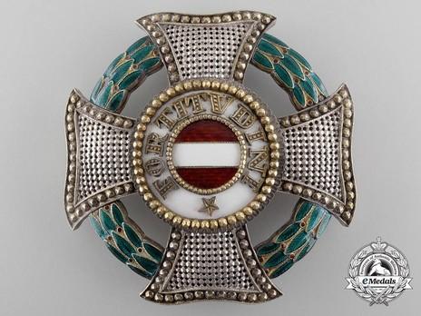 Hungarian Military Order of Maria Theresa, Grand Cross Breast Star Obverse