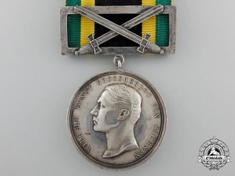 Gold Medal (for Merit 1914 with swords clasp) Obverse