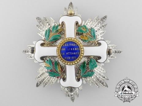 Order of San Marino, Type II, Grand Officer Breast Star Obverse