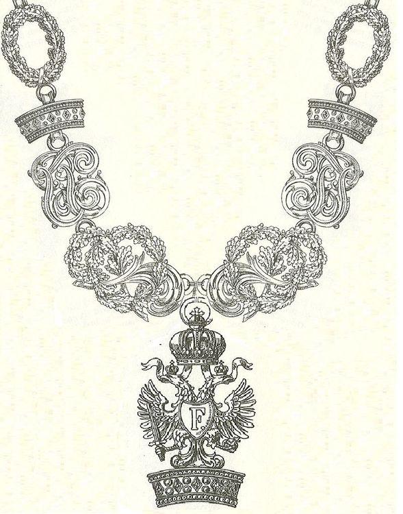 800px keten van de orde van de ijzeren kroon oostenrijk
