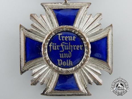 NSDAP Long Service Award, II Class Reverse