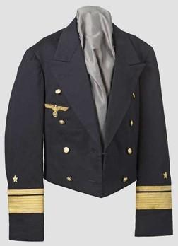 Kriegsmarine Blue Mess Jacket Obverse