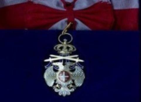 Order of the Republic White Eagle, I Class Obverse