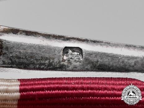 1930 Coronation Medal Suspension Detail