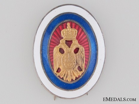 Army Officer's Badge Obverse