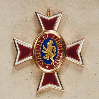 House Order of the Golden Lion, Type II, Knight's Cross (in gold)