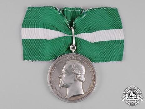 Duke Ernst Medal, in Silver Obverse