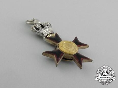 Order of Ludwig, Miniature II Class Knight's Cross Reverse