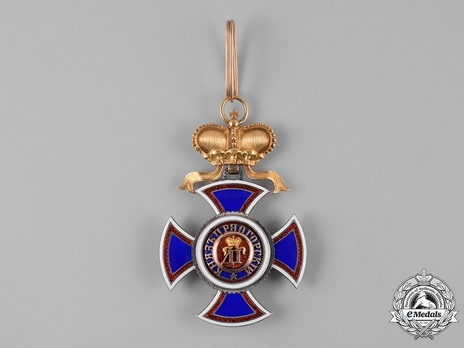 Order of Danilo I (Merit for the Independence), Type IV, II Class, Grand Officer