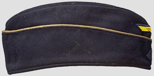 Kriegsmarine Blue Officer Ranks Board Cap Right