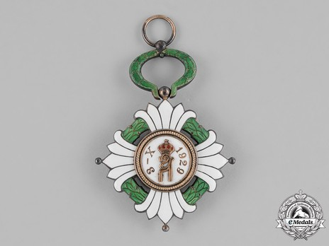 Order of the Yugoslav Crown, Grand Cross Reverse