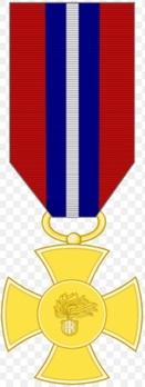 Cross of Merit of the Carabinieri, in Gold Obverse