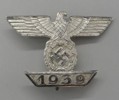 Clasp to the Iron Cross I Class, Type II, by O. Schickle (unmarked) Obverse