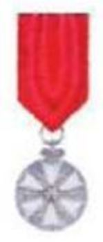 Order of the White Star, Silver Medal (in silver/enamelled) Obverse