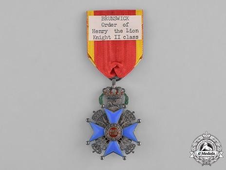 II Class Knight's Cross Reverse