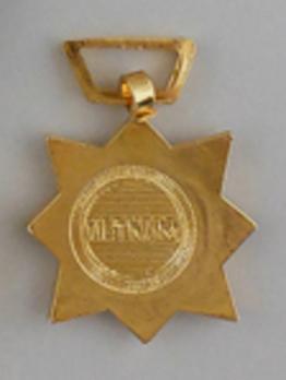 Civil Actions Miniature Civic Actions Medal Reverse