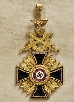 German Order, I Class Cross Obverse