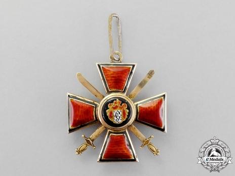 II Class Badge (in gold, with swords)