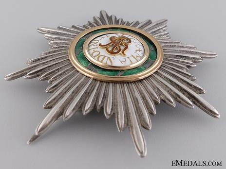 Order of Saint Stanislaus I Class Breast Star (Napoleonic) Obverse