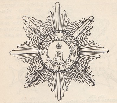 Grand Cross Breast Star