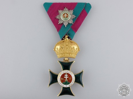 Order of St. Stephen of Hungary, Knight Obverse