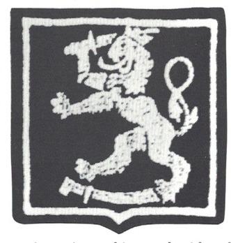German Army Finland Sleeve Insignia Obverse