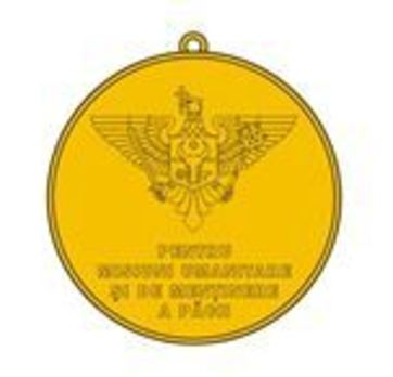 Medal for Humanitarian Missions and Peacekeeping Reverse