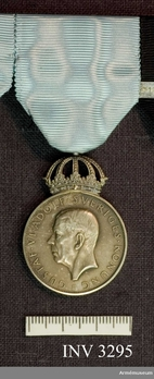 "Silver Medal (rim stamped ""MJV SILVER 1967"") Obverse"