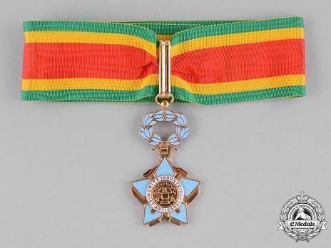 Order of Industrial and Artisanal Merit, Commander Obverse