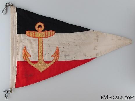 Kriegsmarine Division Commander Pennant Obverse