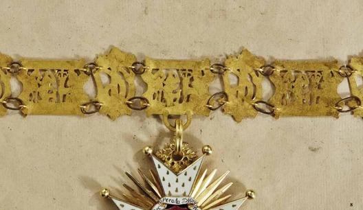 Order of St. Hubert, Collar