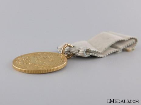 Commemorative Medal of Sashaneli Tufek, in Gold Obverse