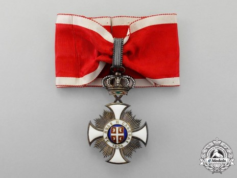 Order of the Star of Karageorg, Civil Division, III Class Obverse
