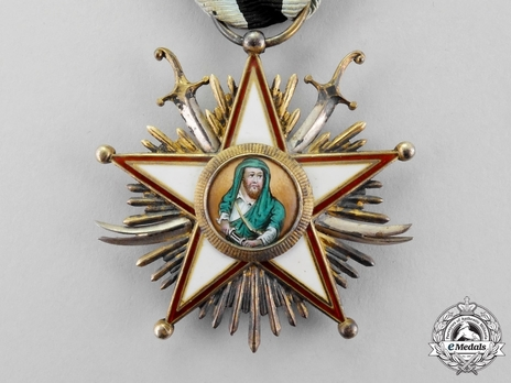 Military Order of Zolfagher (Ḏu'l-faqār), III Class Obverse