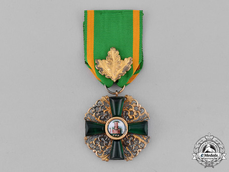 Order of the Zähringer Lion, I Class Knight (with oak leaves) (in silver gilt) Obverse