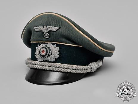 German Army Infantry Officer's Visor Cap Profile