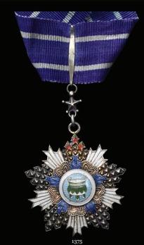 Order of the Precious Tripod, IV Class