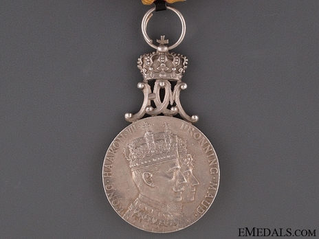 Coronation Medal 1906 in Silver Obverse