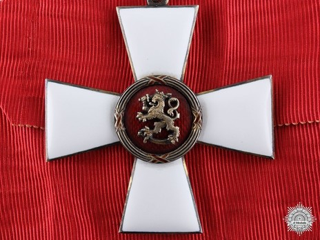 Order of the Lion of Finland, Civil Division, Commander I Class Obverse