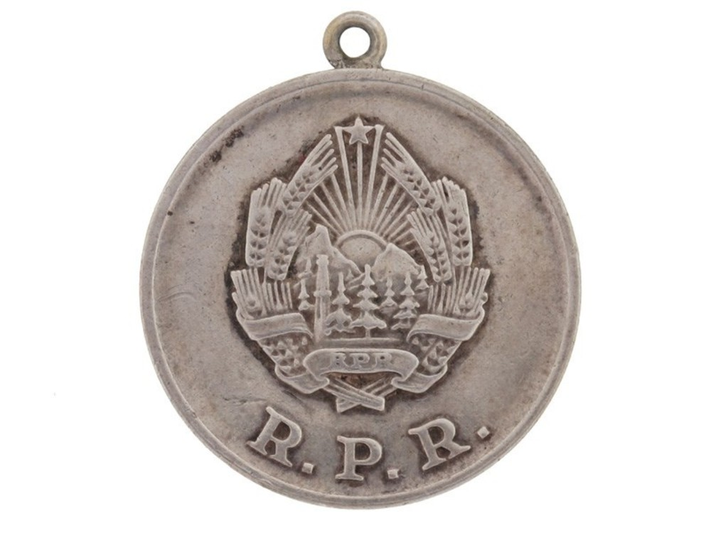 Silver medal 1958 1965