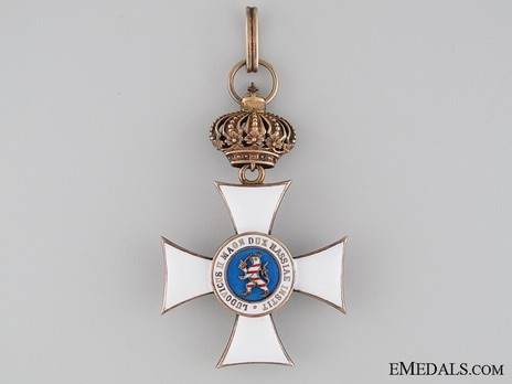 I Class Knight's Cross (with crown) (in silver gilt) Reverse