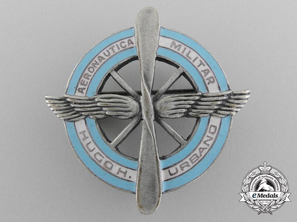 Hugh+h.+urbano+military+aircraft+badged+1