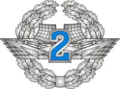 Voluntary Military Service Airforce 2nd Grade Badge Obverse