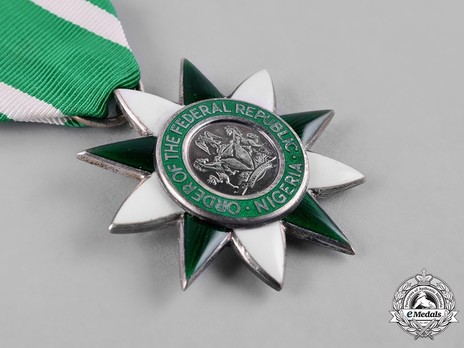 Order of the Federal Republic, Civil Division, Member Obverse