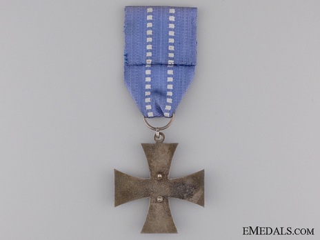 Commemorative Cross for the Home Front Reverse