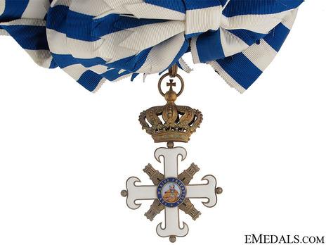 Order of San Marino, Type I, Civil Division, Grand Cross Obverse with Cordon