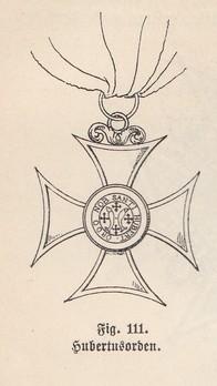 Order of Saint Hubert, Knight