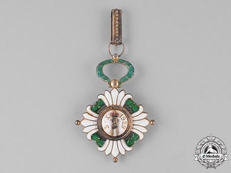 Order of the Yugoslav Crown, Grand Officer's Cross Reverse
