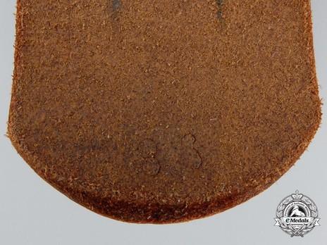 Luftwaffe Brown Leather Belt Strap Detail