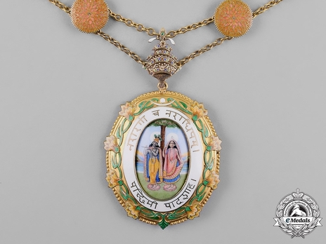 Order of Krishna, Badge